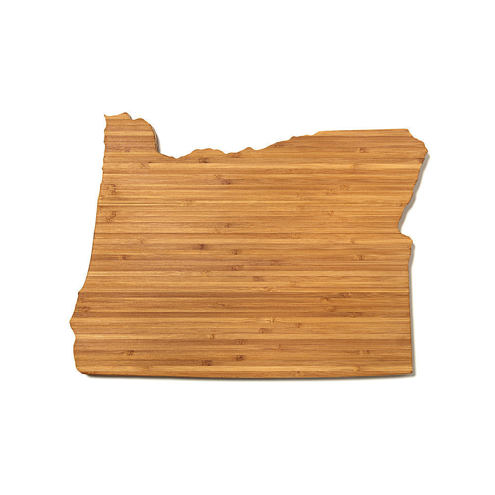 oregon state shaped cutting board aheirloom