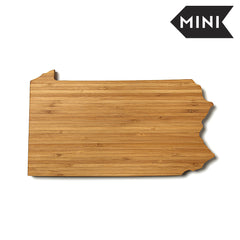Pennsylvania Shaped Miniature Cutting Board