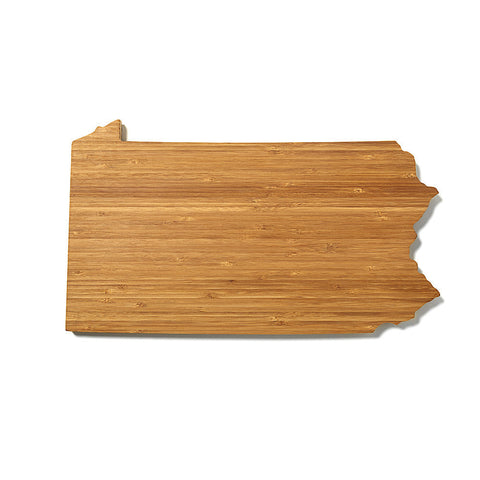 Pennsylvania Shaped Cutting Board by AHeirloom