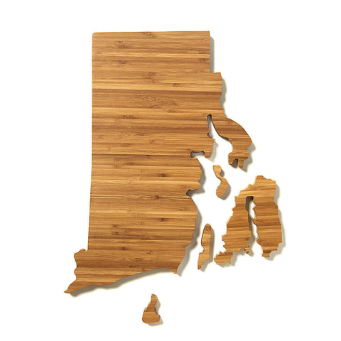 Rhode Island Shaped Cutting Board by AHeirloom