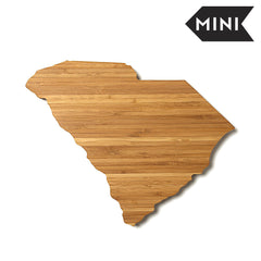 South Carolina Shaped Miniature Cutting Board