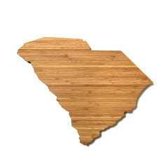 South Carolina Shaped Cutting Board