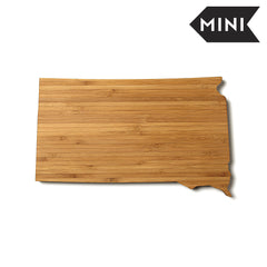 South Dakota Shaped Miniature Cutting Board
