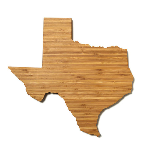 Texas Shaped Cutting Board by AHeirloom