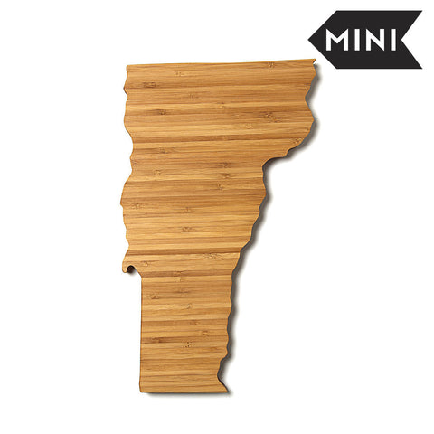 Vermont Shaped Miniature Cutting Board by AHeirloom