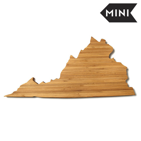Virginia Shaped Miniature Cutting Board by AHeirloom
