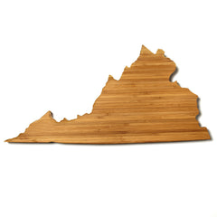 Virginia Shaped Cutting Board