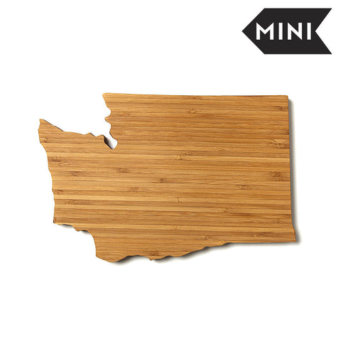 Washington Shaped Miniature Cutting Board by AHeirloom