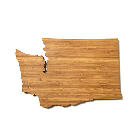 Washington Shaped Cutting Board by AHeirloom
