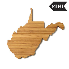 West Virginia Shaped Miniature Cutting Board