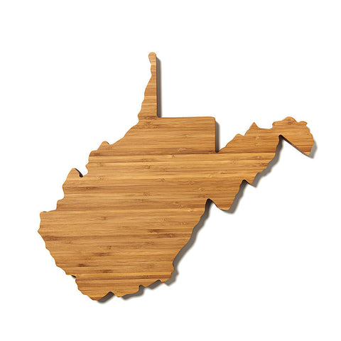 West Virginia Shaped Cutting Board by AHeirloom