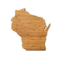 Wisconsin Shaped Cutting Board