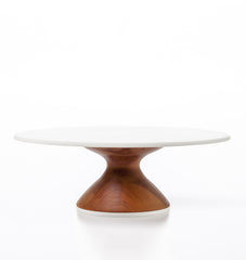 Wedding Cake Stand in Cherry: Thin Base