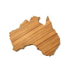 Australia Shaped Cutting Board