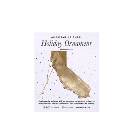 California Holiday Ornament by AHeirloom