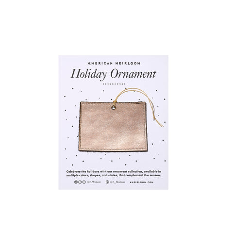Colorado Holiday Ornament by AHeirloom