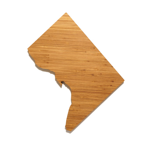 DC Shaped Cutting Board by AHeirloom
