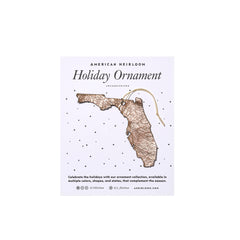 Florida Holiday Ornament