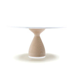 Hardwood Maple Cake Stand: Thick Base