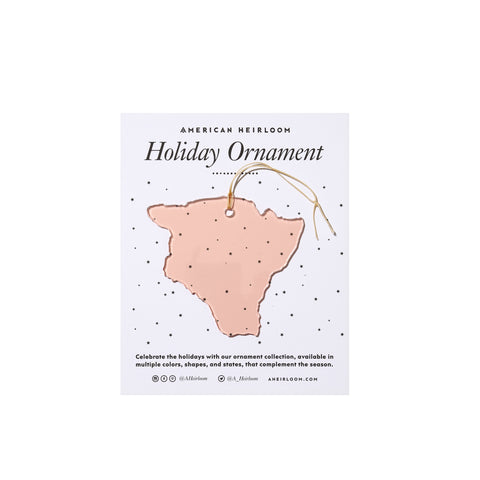 Hawaii Holiday Ornament by AHeirloom