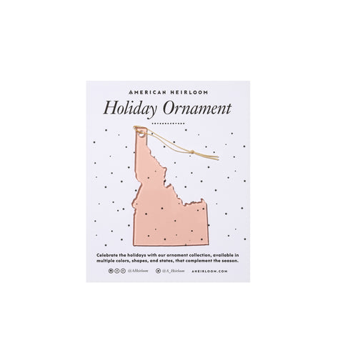 Idaho Holiday Ornament by AHeirloom