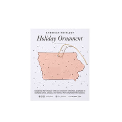 Iowa Holiday Ornament