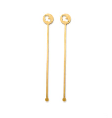 Brass State Cocktail Stirrers