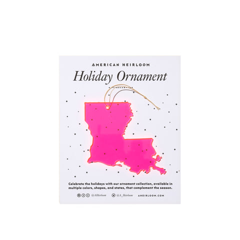 Louisiana Holiday Ornament by AHeirloom