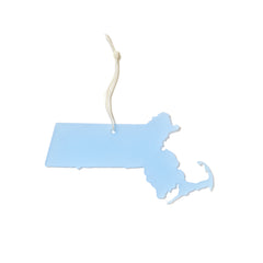 Massachusetts Holiday Ornament