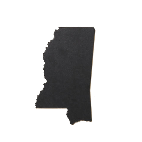 Mississippi Shaped Miniature Cutting Board by AHeirloom