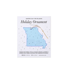 Missouri Holiday Ornament