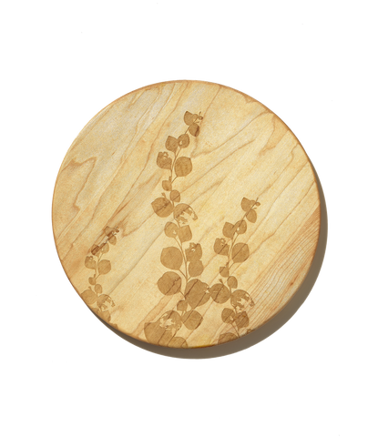 Engraved Maple Spring Branch Cutting Board by AHeirloom