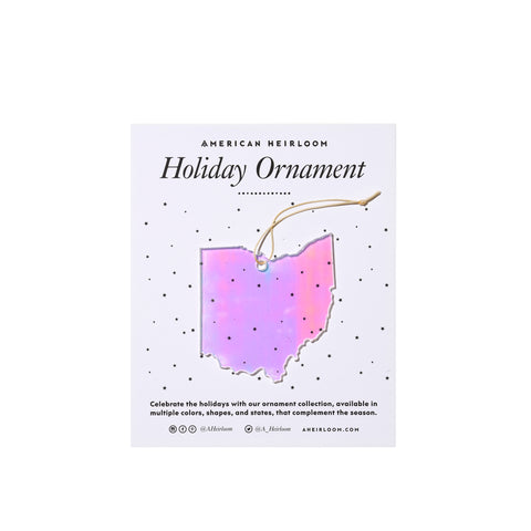 Ohio Holiday Ornament by AHeirloom