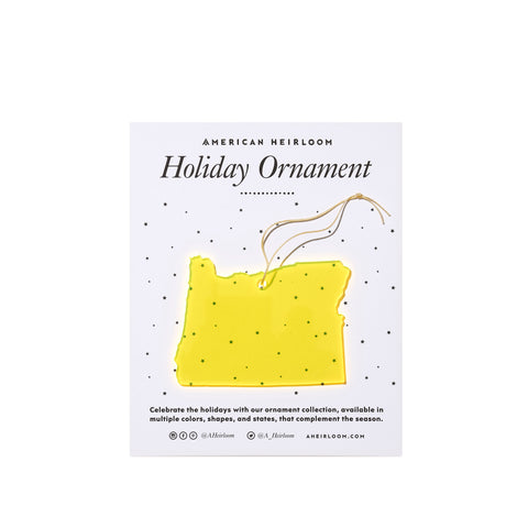 Oregon Holiday Ornament by AHeirloom