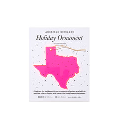 Texas Holiday Ornament