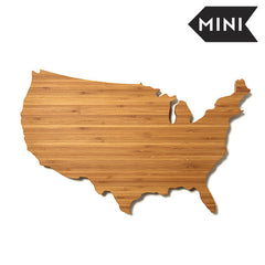 USA Shaped Mini Cutting Board
