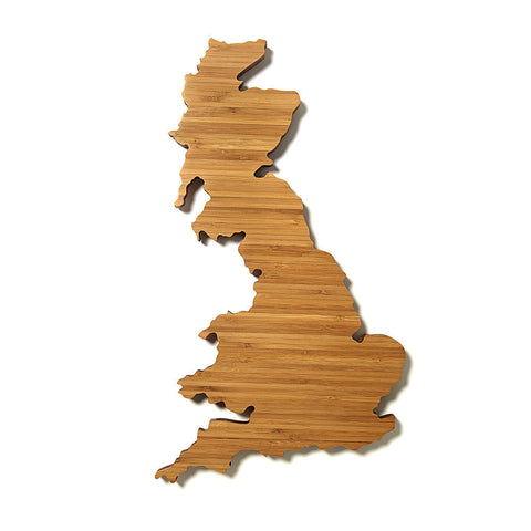 United Kingdom Shaped Cutting Board by AHeirloom