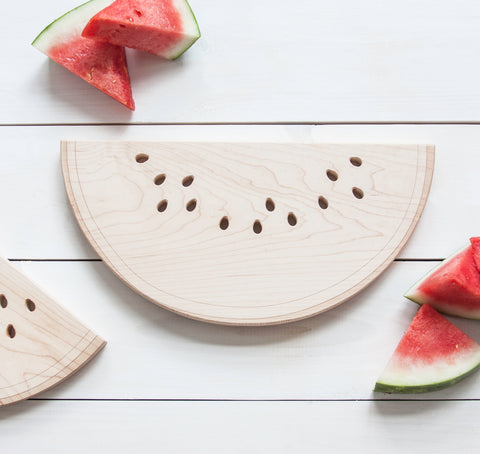 Watermelon cutting board - Maple by AHeirloom