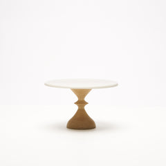 Hardwood Maple Notch Cake Stand