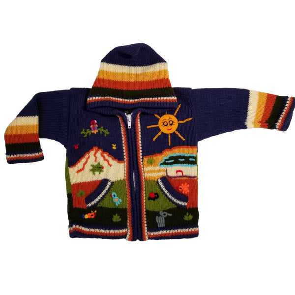 Peruvian Sweater (size: 1-2)