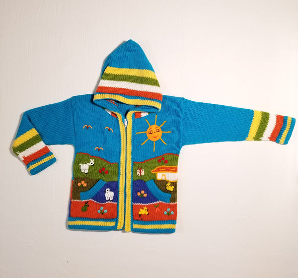 Peruvian Sweater (size: 4-5)