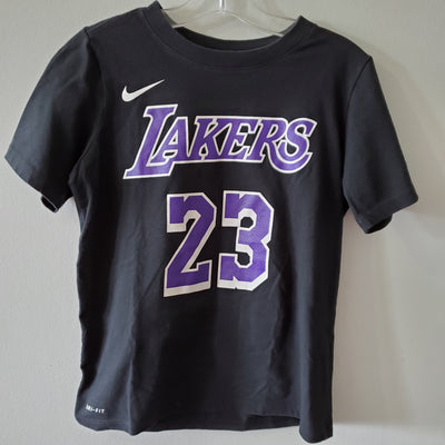Nike Lakers Top, Blk, size 8
