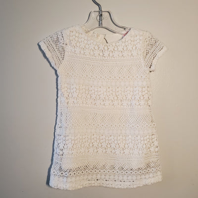 Zara Dress, White, size 9-12m