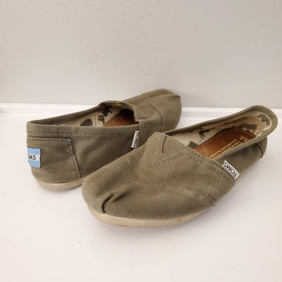 Toms Shoe Taupe, ., size .