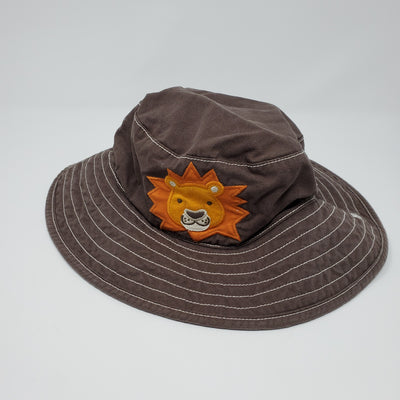 Sun Hat Gymbo, Brown, size 4-5