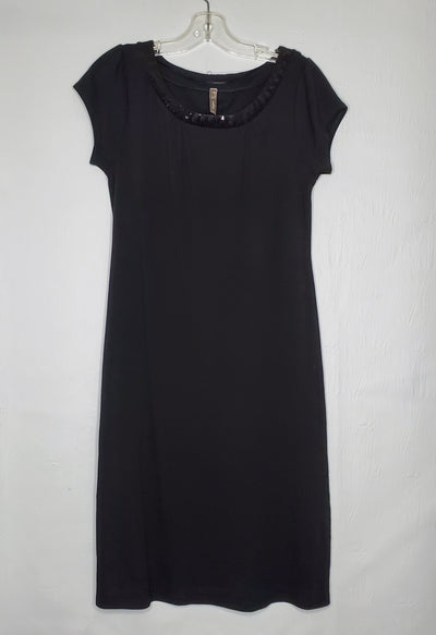 Thyme Dress, Black, size Large