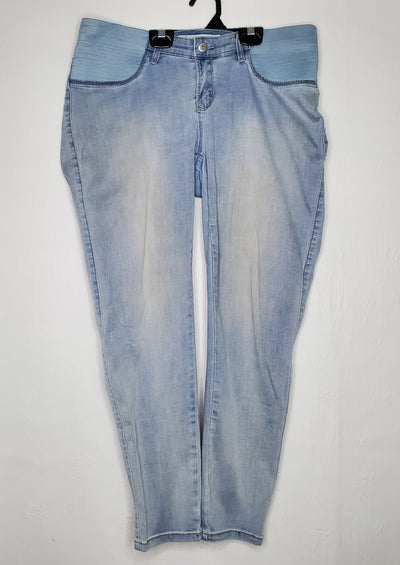 Ripe Denim Pant, Light Bl, size Large