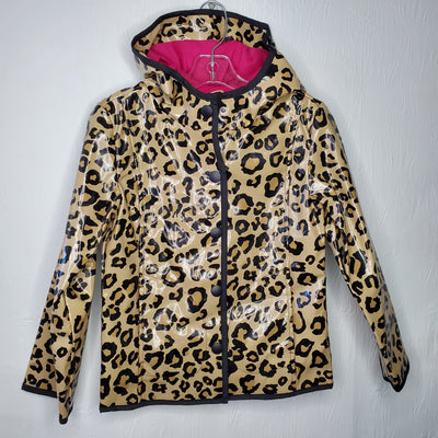 Rain Coat Leopard  NEW, Brown, size 5-6