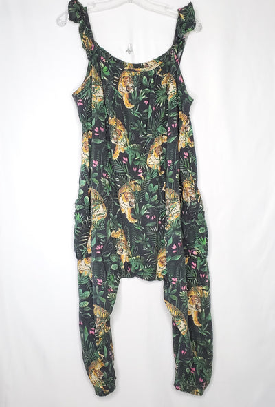 Next Jungle Jumpsuit, Green, size 7