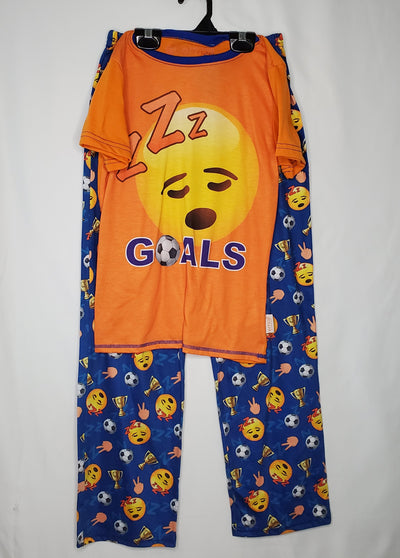Emoji PJ, Orange, size 10